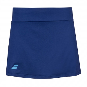 Shorts and Skirts Girl Babolat Play Skirt Girl  Estate Blue 3GP10814000