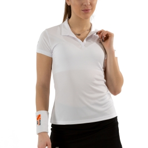 Women`s Tennis T-Shirts and Polos Babolat Play Polo  White 3WP10211000
