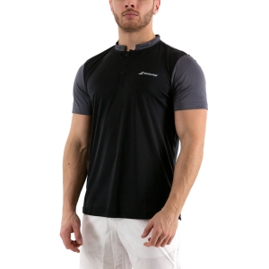 Men's Tennis Polo Babolat Play Polo  Black 3MP10212000