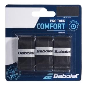 Overgrip Babolat Pro Tour x 3 Overgrip  Black 653037105