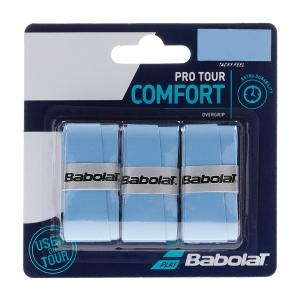 Overgrip Babolat Pro Tour x 3 Overgrip  Blue 653037136