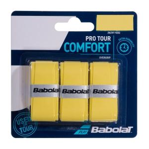 Overgrip Babolat Pro Tour x 3 Overgrip  Yellow 653037113