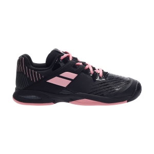 Junior Tennis Shoes Babolat Propulse All Court Girl  Black/Geranium Pink 33S204782014
