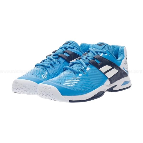 Babolat Propulse All Court Junior - White/Blue Aster