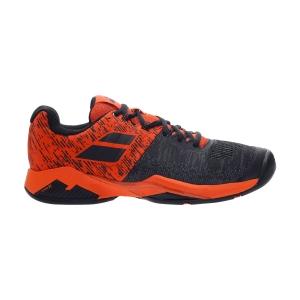Men`s Tennis Shoes Babolat Propulse Blast All Court  Black/Golden Poppy 30S204422020