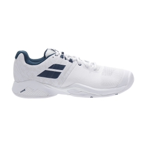 Men`s Tennis Shoes Babolat Propulse Blast All Court  White/Estate Blue 30S204421005