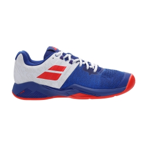 Men`s Tennis Shoes Babolat Propulse Blast Clay  Imperial Blue/White 30S204464064