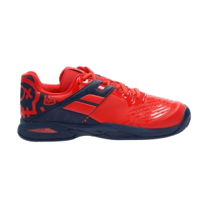 Scarpe Tennis Junior Babolat Propulse Clay Bambini  Geraldine/Blue 33S207505037