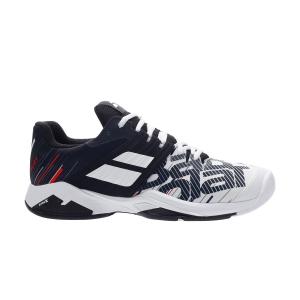 Calzado Tenis Hombre Babolat Propulse Fury All Court  White/Black 30S202081001