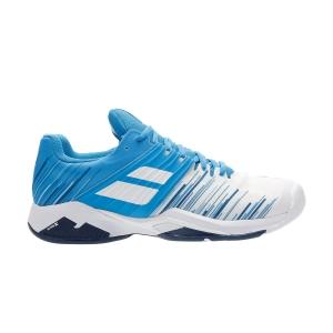 Calzado Tenis Hombre Babolat Propulse Fury All Court  White/Blue Aster 30S202081030