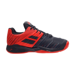Men`s Tennis Shoes Babolat Propulse Fury Clay  Black/Tomato Red 30S204252019