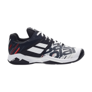 Scarpe Tennis Uomo Babolat Propulse Fury Clay  White/Black 30S204251001
