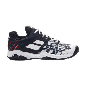 Calzado Tenis Hombre Babolat Propulse Fury Clay  White/Black 30S204251001