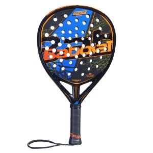 Padel Racket Babolat Revenge Carbon Padel  Black/Blue 150073146