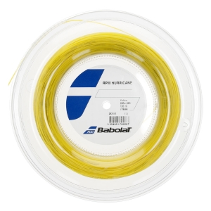 Monofilament String Babolat RPM Hurricane 1.20 200 m String Reel  Yellow 243141113120