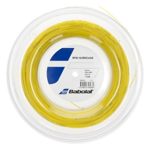 Monofilament String Babolat RPM Hurricane 1.30 200 m String Reel  Yellow 243141113130