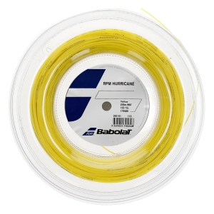 Monofilament String Babolat RPM Hurricane 1.35 200 m String Reel  Yellow 243141113135