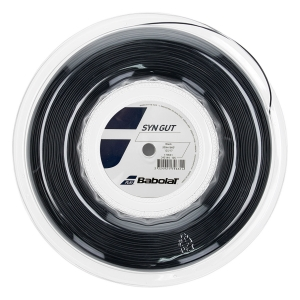 Multifilament String Babolat Syn Gut 1.25 String Reel 200 m  Black 243144105125