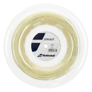 Multifilament String Babolat Syn Gut 1.25 String Reel 200 m  Natural 243144128125
