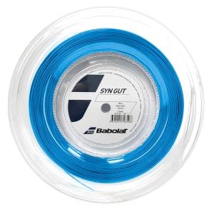 Multifilament String Babolat Syn Gut 1.30 String Reel 200 m  Blue 243144136130