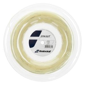 Multifilament String Babolat Syn Gut 1.30 String Reel 200 m  Natural 243144128130