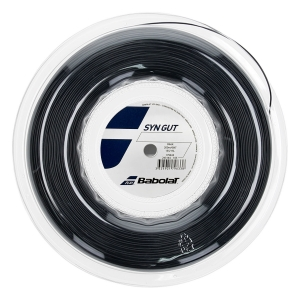 Multifilament String Babolat Syn Gut 1.35 String Reel 200 m  Black 243144105135