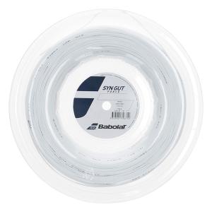 Multifilament String Babolat Syn Gut Force 1.35 String Reel 200 m  White 243145101135