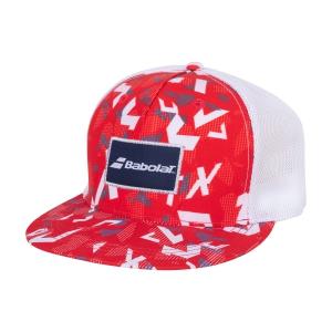 Cappelli e Visiere Tennis Babolat Trucker Cappello  Tomato Red 5UA12245027