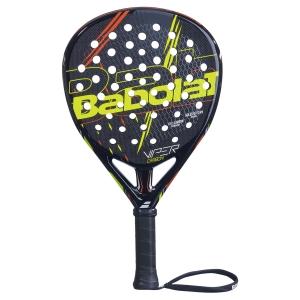 Padel Racket Babolat Viper Carbon Padel  Black/Red/Yellow 150076296