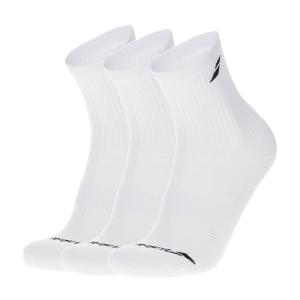 Tennis Socks Babolat Logo x 3 Socks Junior  White 5JA13711000