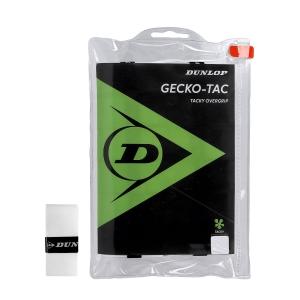 Overgrip Dunlop GeckoTac x 12 Overgrip  White 613266