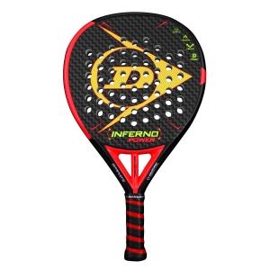 Padel Racket Dunlop Inferno Power Padel  Black/Red 623894