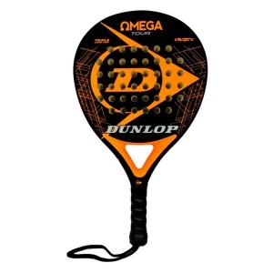 Padel Racket Dunlop Omega Tour Padel  Black/Orange 623862