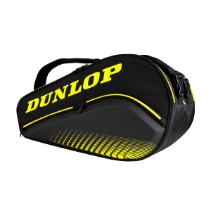 Padel Bag Dunlop Padel Elite Thermo Bag  Black/Yellow 10295500