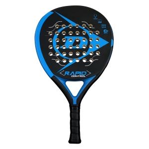 Padel Racket Dunlop Rapid Control Padel  Black/Blue 623891