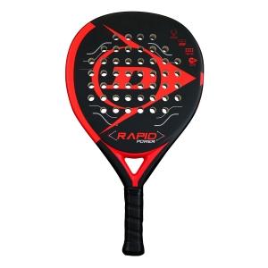 Padel Racket Dunlop Rapid Power Padel  Black/Red 623890