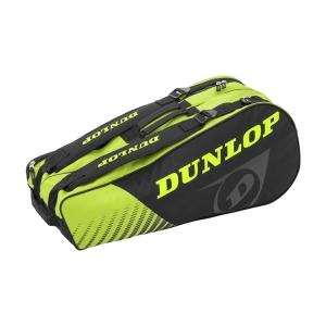 Tennis Bag Dunlop SX Club x 6 Bag  Black/Yellow 10295438