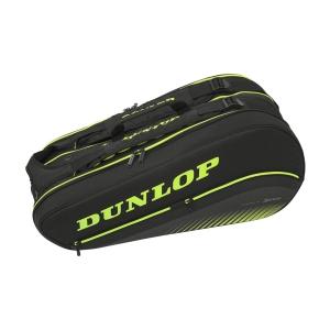 Bolsa Tenis Dunlop SX Performance x 8 Thermo Bolsas  Black/Yellow 10295176