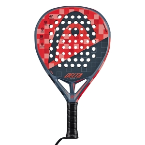 Padel Racket Head Graphene 360+ Delta Elite Padel  Red/Grey 228120