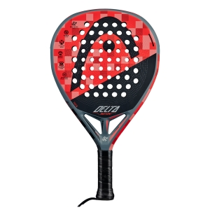 Padel Racket Head Graphene 360+ Delta Motion Padel  Grey/Red 228110
