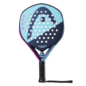 Padel Racket Head Graphene 360 Gamma Motion Padel  Pink/Purple/Blue 228179