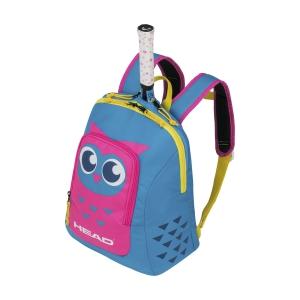 Junior Bag Head Owl Backpack Girl  Blue/Pink 283710 BLPK