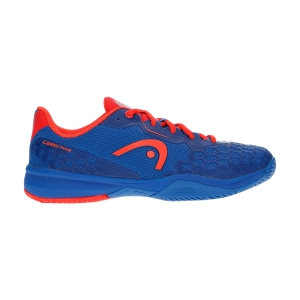 Scarpe Tennis Junior Head Revolt Pro 3.0 Bambino  Royal Blue/Neon Red 275120 RONR