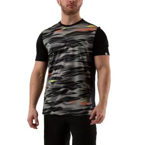 Camisetas de Tenis Hombre Head Slider Camiseta  Camo/Black 811240 XI