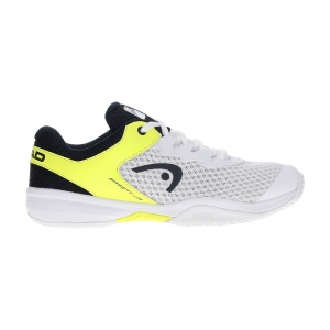 Scarpe Tennis Junior Head Sprint 3.0 Bambino  White/Neon Yellow 275320 WHNY