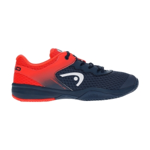 Scarpe Tennis Junior Head Sprint 3.0 Bambino  Midnight Navy/Neon Red 275300 MNNR