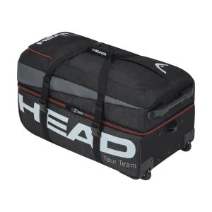 Tennis Bag Head Tour Team Travel Trolley  Black/Grey 283380 BKGR