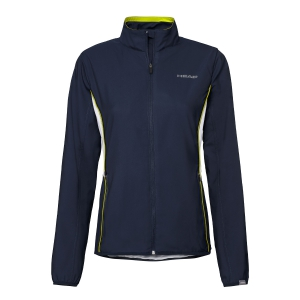Tennis Jackets Girls Head Club Jacket Girl  Dark Blue 816429 DB