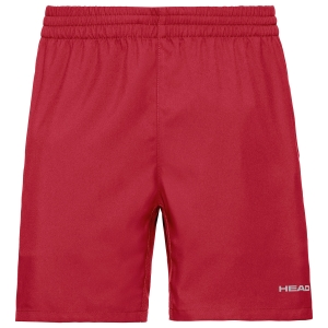 Pantalones Cortos Tenis Hombre Head Club 8in Shorts  Red 811379RD