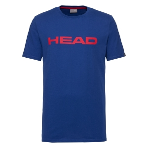 Polo y Camisetas de Tenis Head Club Ivan Camiseta Nino  Royal/Red 816700 RORD